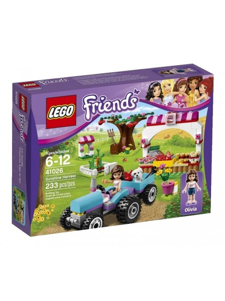 Детский конструктор Lego Friends / Лего Френдз Сбор урожая 41026