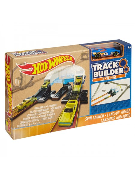 """Детский игровой набор Автотрек для машинок Hot Wheels """" Spin Launch """" Mattel \ Маттел DNB70 \ DNH 84"""