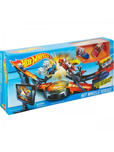 """Детский игровой набор автотрек Hot Wheels \ Хот Вилс  """" Скоростная трасса - Супер гравитация """" Mattel DHY25"""
