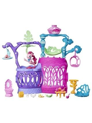 """Детский игровой набор """" Замок Мерцание """" Май Литл Пони \ My Little Pony Hasbro \ Хасбро со светом 1058"""