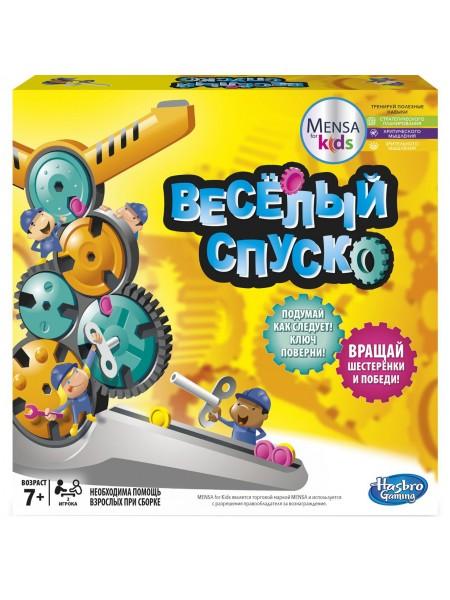 """Детская настольная игра """" Веселый Спуск """" Hasbro \ Хасбро 00123"""