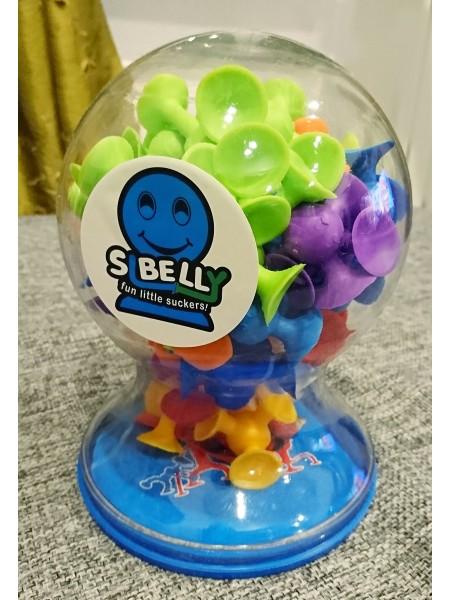 Детский конструктор на присосках Sibelly \ Сибелли 50 разноцветных деталей LSB3001