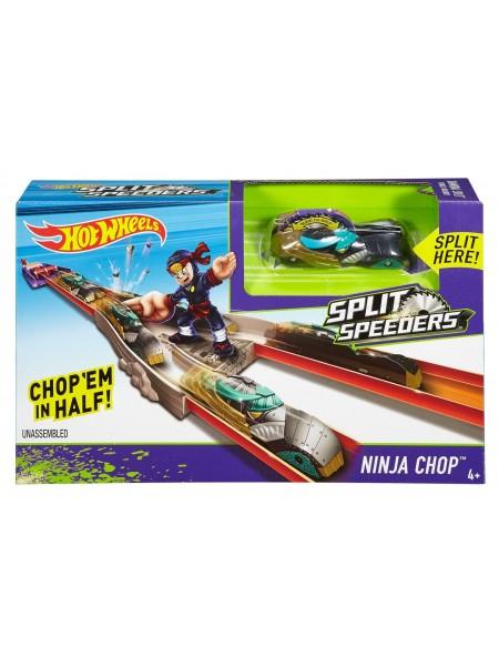 """Детский игровой набор Автотрек для машинок Hot Wheels """" Атака Ниндзя """" Mattel \ Маттел DJC31"""