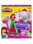 """Детский игровой набор пластилина Play-Doh """" Принцессы: Туалетный столик Ариэль, создаем платья """" Hasbro / Хасбро 2680"""