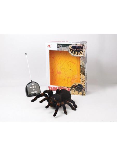 """Детская радиоуправляемая игрушка """" Паук Тарантул """" со светящимися глазами 781"""