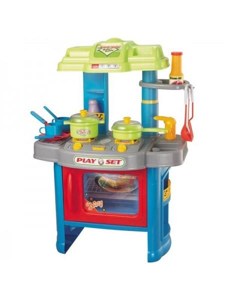 """Детский игровой набор """" Кухня Kitchen """" со световыми и звуковыми эффектами + аксессуары 008-26А"""