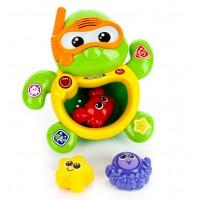 """Детская игрушка развивающая для ванной """" Черепаха """" Vtech 113426"""