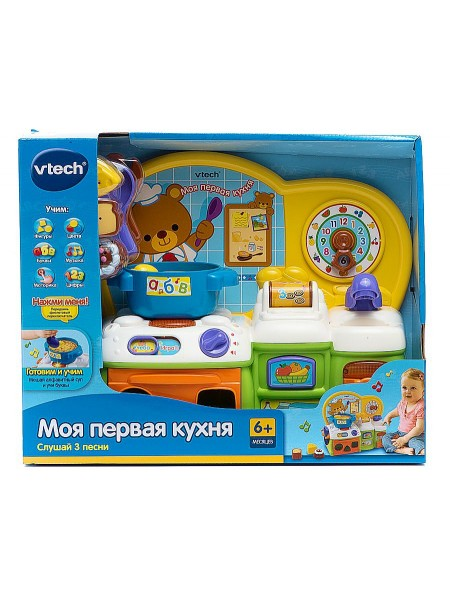 """Детская обучающая развивающая игрушка """" Моя первая кухня """" Vtech 123826"""