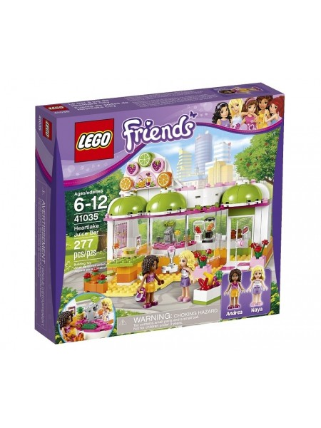 "Детский конструктор Lego Friends / Лего Френдз "" Фреш-бар Хартлейк Сити "" 41035"