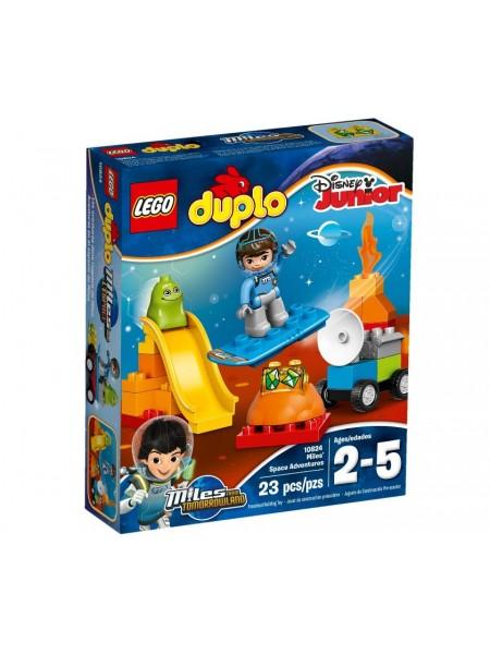 Детский конструктор Lego Duplo / Лего Дупло Космические приключения Майлза 10824