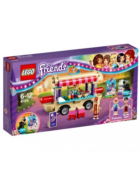 "Детский конструктор Lego Friends / Лего Френдз "" Парк развлечений: Фургон с хот-догами "" 41129"