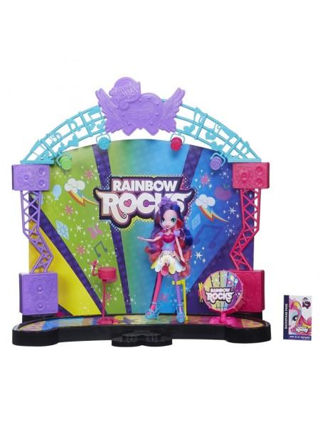 """Детский игровой набор """" Equestria Girls Рок-концерт с куклой-пони Пинки Пай """" My Little Pony Hasbro \ Хасбро A8060"""