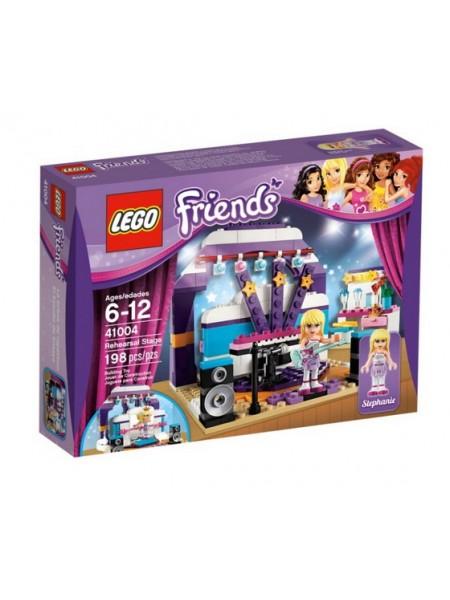Детский конструктор Lego Friends / Лего Фрэндс Генеральная репетиция 41004